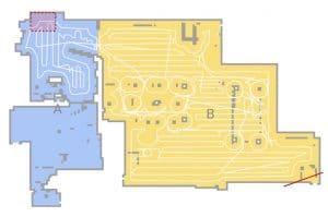 Dreame D9 robotstofzuiger map